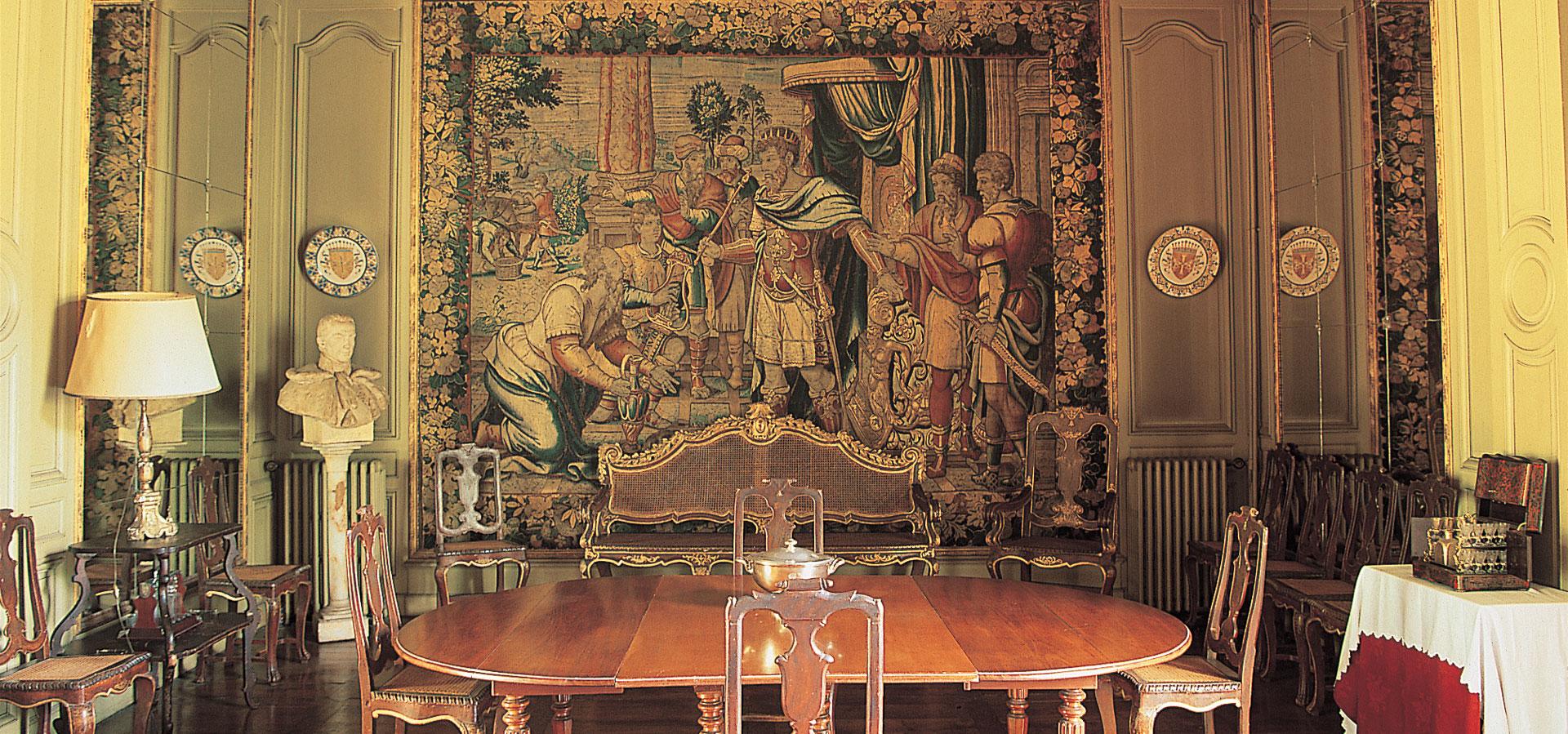 Visite du château : le salon